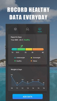 Step Tracker Daily pedometer Lose weight3