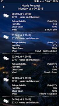 Weather Pro Weather Real time Forecast6