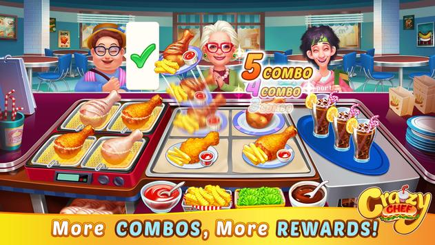 Crazy Chef Fast Restaurant Cooking Game1