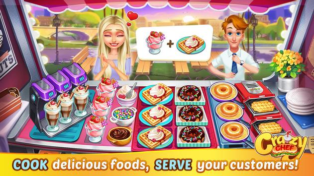 Crazy Chef Fast Restaurant Cooking Game2