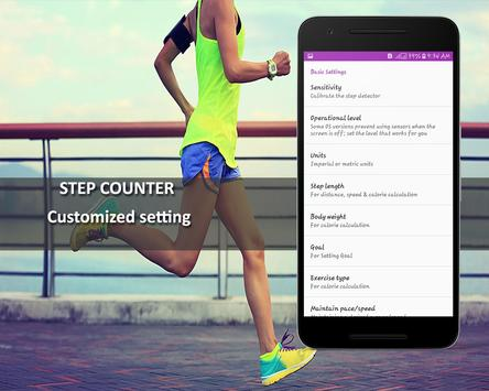 Step Counter Pedometer Free Calorie Counter8