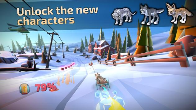 Animal Adventure Downhill Rush4