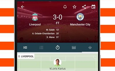 Forza Live soccer scores video highlights