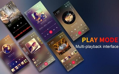 Music Player Colorful Themes Equalizer