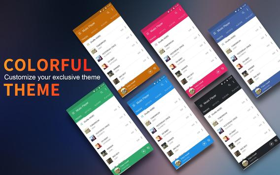 Music Player Colorful Themes Equalizer8