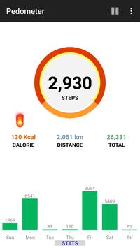 Step Counter Pedometer Free Calorie Tracker1