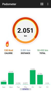 Step Counter Pedometer Free Calorie Tracker5