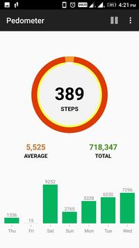 Step Counter Pedometer Free Calorie Tracker8