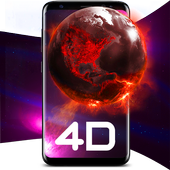 4D Live Wallpapers Animated AMOLED 3D Backgrounds