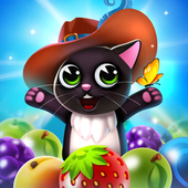 Fruity Cat Pop bubble shooter