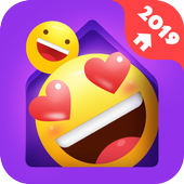 IN Launcher Love Emojis GIFs Themes
