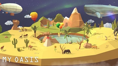 My Oasis Calming and Relaxing Incremental Game