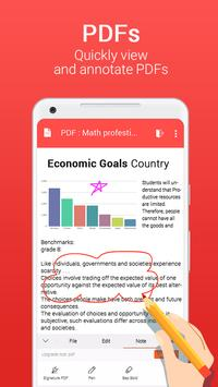 Office for Android Word Excel PDF Docx Slide3