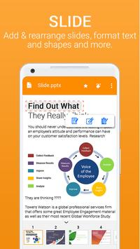 Office for Android Word Excel PDF Docx Slide4
