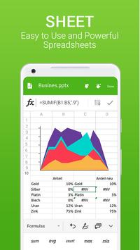 Office for Android Word Excel PDF Docx Slide5