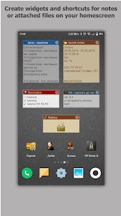 VIP Notes keeper for passwords documents files10
