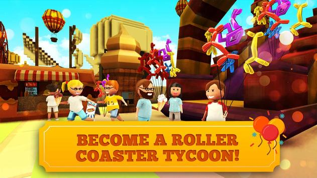 Roller Coaster Craft Blocky Building RCT Games2