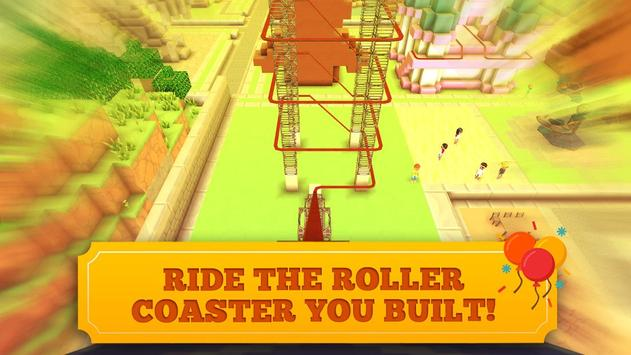 Roller Coaster Craft Blocky Building RCT Games3