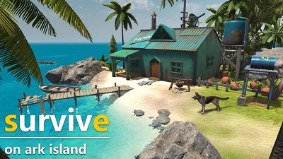 Ark Island Survival Games Built Craft and Hunt