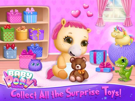 Baby Pony Sisters Virtual Pet Care Horse Nanny1