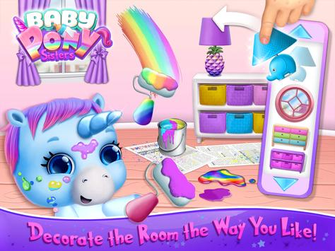 Baby Pony Sisters Virtual Pet Care Horse Nanny2
