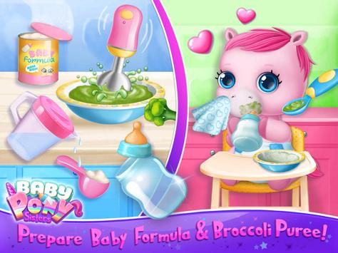 Baby Pony Sisters Virtual Pet Care Horse Nanny5