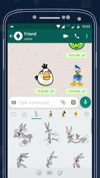 Cartoon Sticker For Whatsapp2