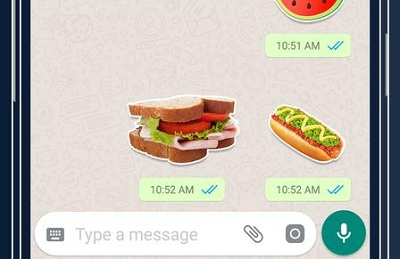 Food Sticker For Whatsapp