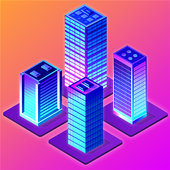 Merge City idle building game
