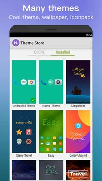 New Launcher 2019 themes icon packs wallpapers4
