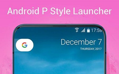 P Launcher for Android 9.0 launcher theme