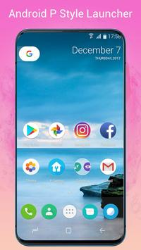 P Launcher for Android 9.0 launcher theme1