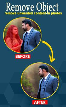 PixelRetouch Remove unwanted content in photos3