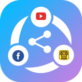Share ALL File Transfer and Data share anything