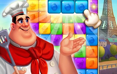 Blaster Chef Culinary match collapse puzzles