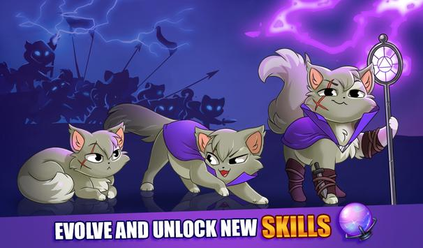 Castle Cats Idle Hero RPG3