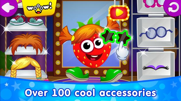 Funny Food DRESS UP games for toddlers and kids2