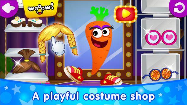 Funny Food DRESS UP games for toddlers and kids4