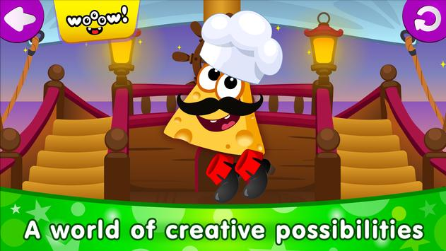 Funny Food DRESS UP games for toddlers and kids6