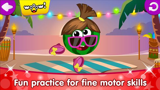 Funny Food DRESS UP games for toddlers and kids7