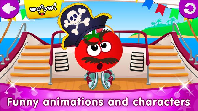 Funny Food DRESS UP games for toddlers and kids8