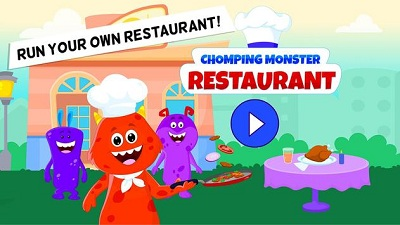 My Monster Town Restaurant Cooking Games for Kids