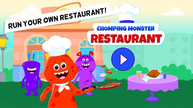 My Monster Town Restaurant Cooking Games for Kids1