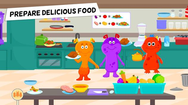 My Monster Town Restaurant Cooking Games for Kids3