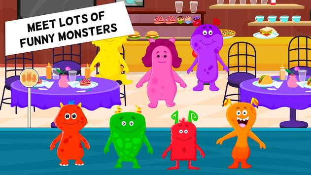My Monster Town Restaurant Cooking Games for Kids6