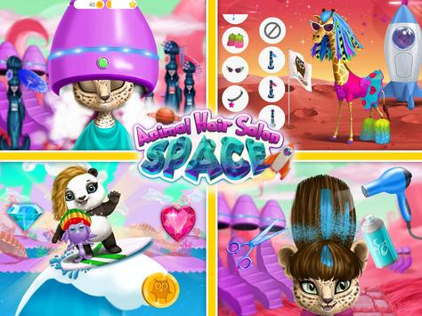 Space Animal Hair Salon Cosmic Pets Makeover8