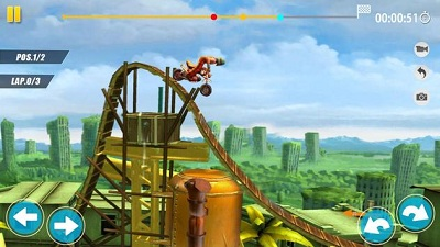 Stunt Moto Fast Motorcycle Trails Game