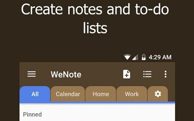 WeNote Color Notes To do Reminders Calendar