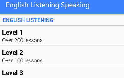 English Listening Speaking