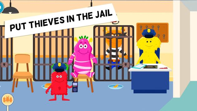 My Monster Town Police Station Games for Kids3